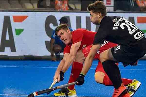 Hockey World Cup 2018: England Ease Past NZ 2-0 To Meet Argentina In Quarters