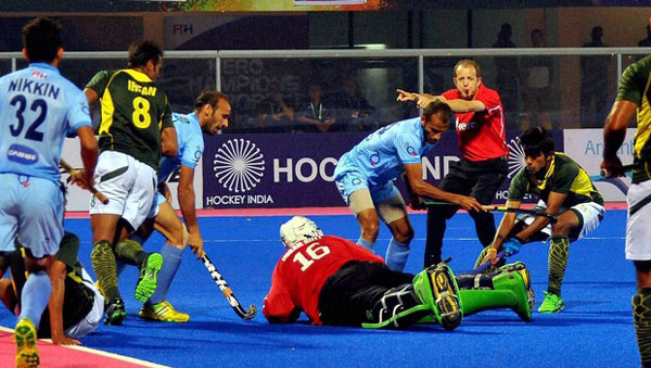 India, Pakistan play to a 2-2 draw in HWL Semi-Final