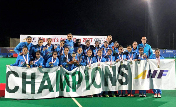 Indian women beat China to lift Asia Cup, qualify for 2018 World Cup