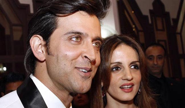 Sussanne doesn't blame anyone for the spilt with Hrithik
