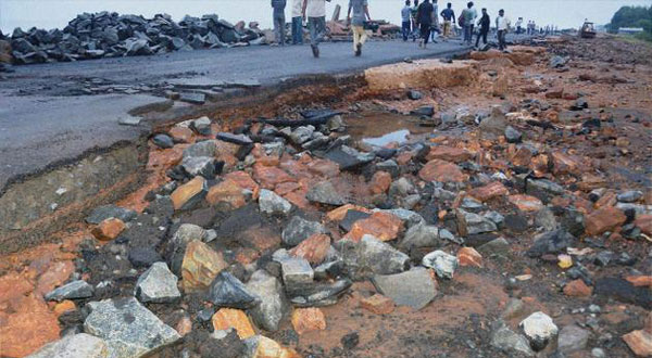 Cyclone claims 21 lives in Andhra, relief work begins
