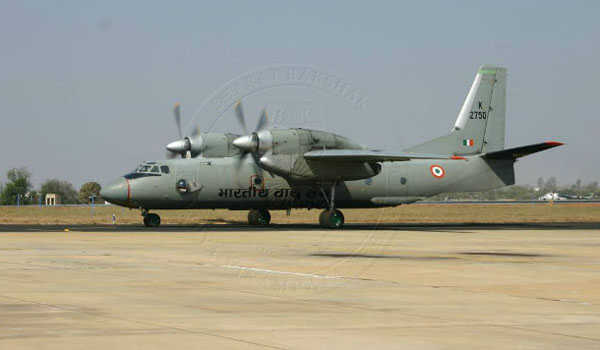 IAF aircraft goes missing with 13 on board