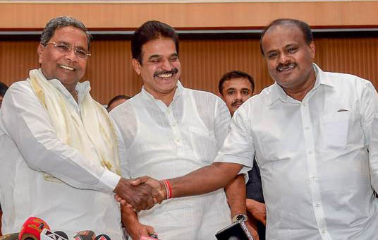 Cong, JD-S discuss seat-sharing in Karnataka for LS polls