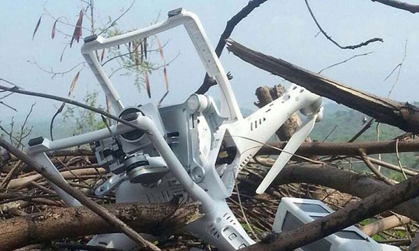 Pakistan protests Indian drone