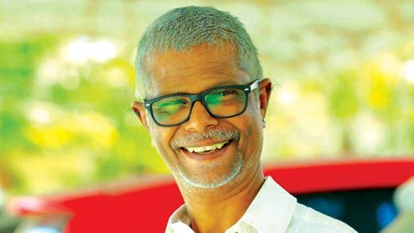 Indrans traces his roots, makes masks