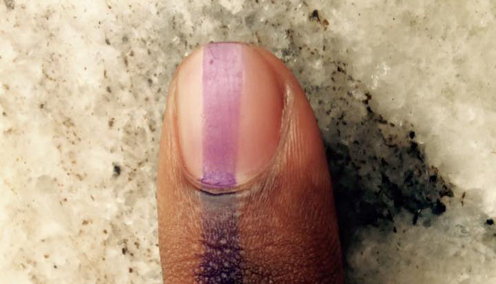 Twitter abuzz with posts of vanishing indelible ink