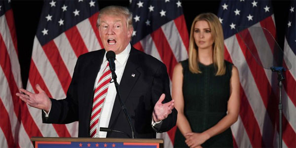 Trumps move to bomb Syrian airbase influenced by Ivanka: Son