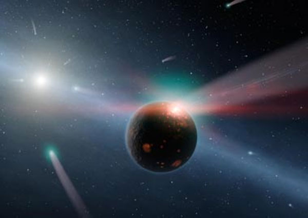 Astronomers discover young solar system similar to ours around Sun-like star