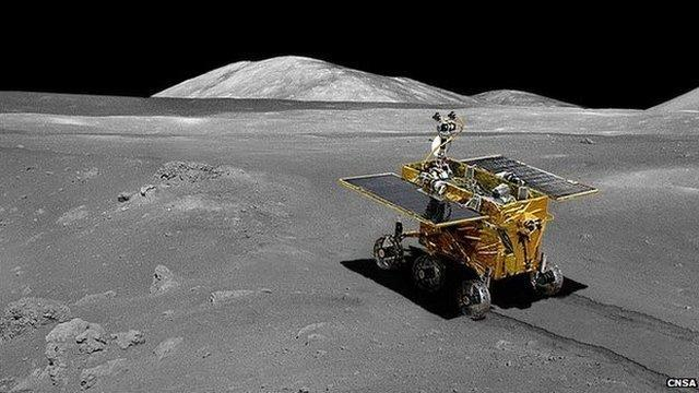 Chinas moon rover listening but immobile: Scientists