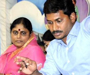 Jagans mother, wife arrested