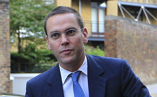 James Murdoch takes over as chairman of Sky plc