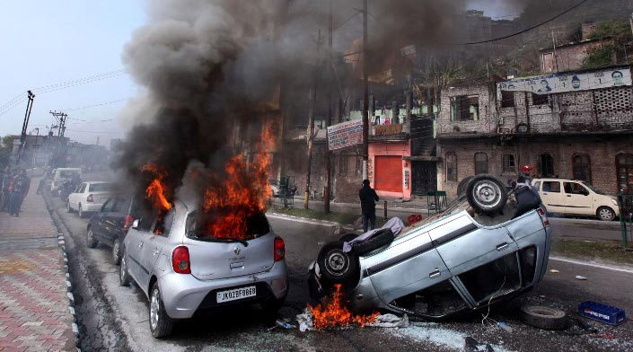 Communal violence in Jammu, Poonch after suicide bombing