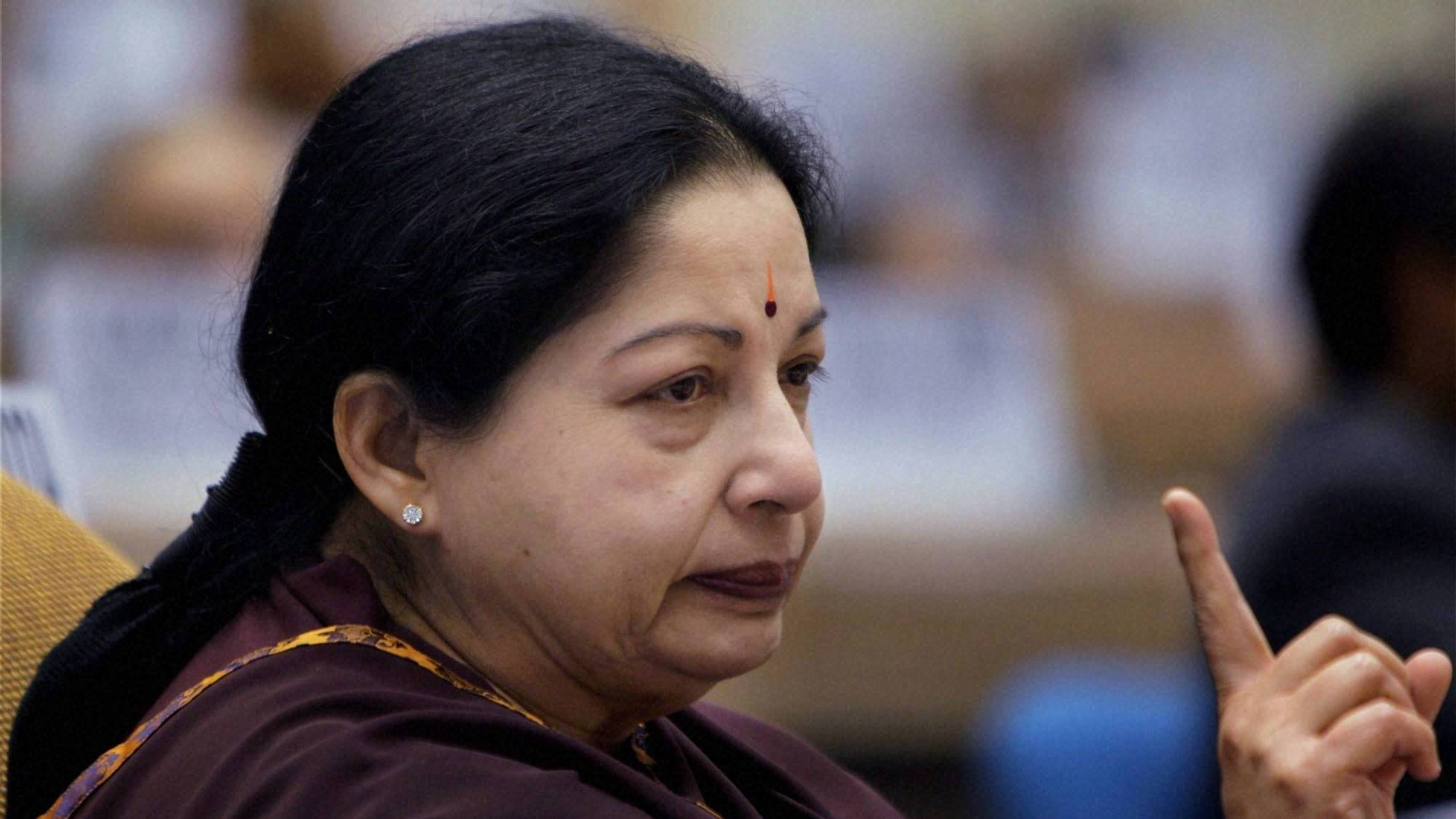 Jayalalithaa drops one more minister