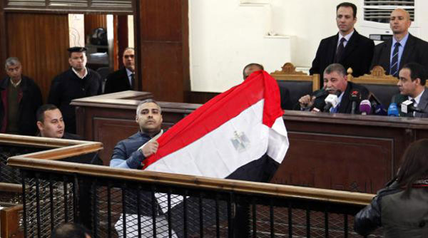 Egypt court frees Al Jazeera journalists on bail