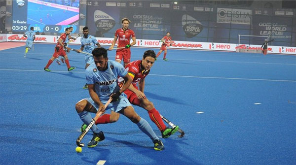 HWL Final: Chikte shines as India pip Belgium to enter semis