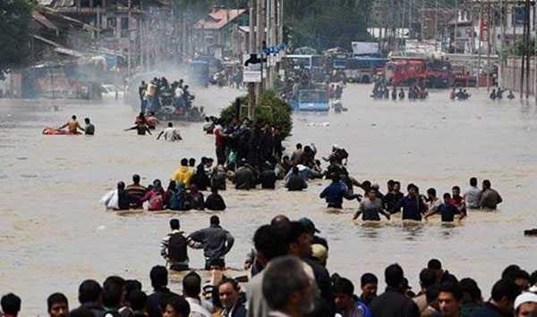 Over 2 lakh rescued in flood-hit Jammu and Kashmir