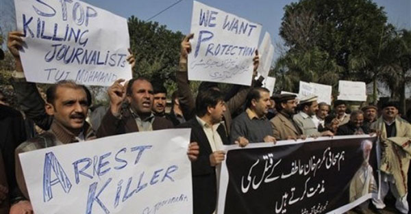 Pakistan most dangerous country for journalists