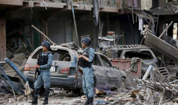 Several killed as series of bomb explosions rocks Kabul
