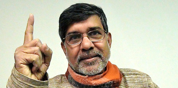 President congratulates Kailash Satyarthi, lauds civil society role