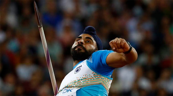 Kang becomes first Indian to qualify for javelin throw finals