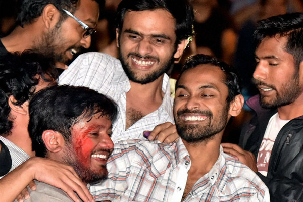 JNU sedition case: video clips of alleged sedition by Kanhaiya Kumar & co 'authentic'