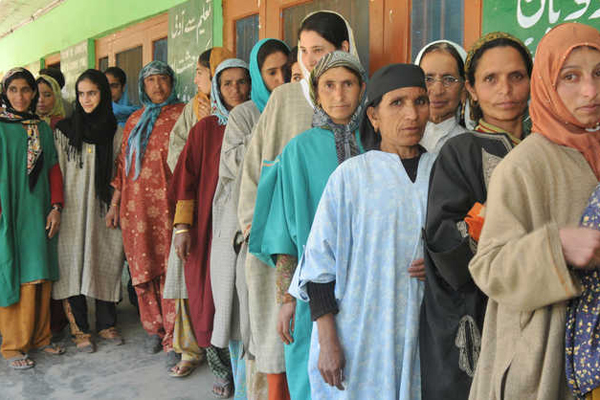 2nd phase of J&K Panchayat polls begin