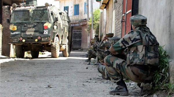 Two militants, villager killed in Kashmir gunfight