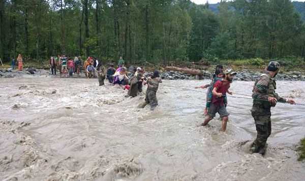 Over 76,500 evacuated in flood-hit Kashmir as waters continue to recede