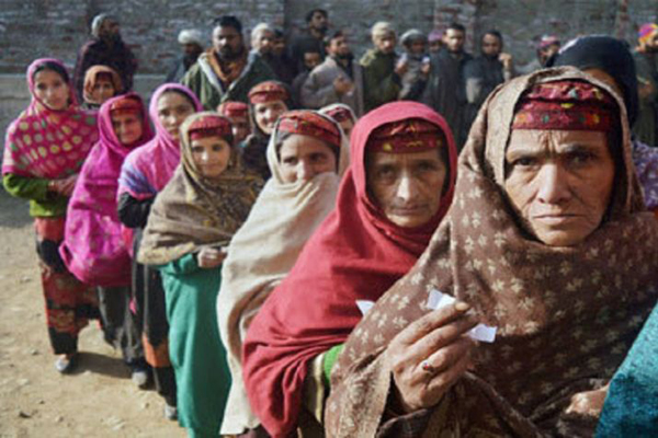 J&K Civic Polls Peaceful; Brisk Polling in Jammu, Low Turnout in Valley
