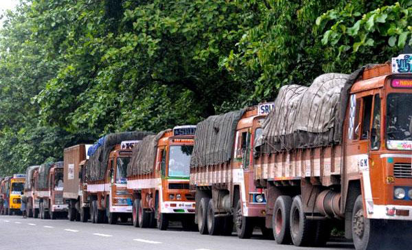 Truckers strike enters fifth day