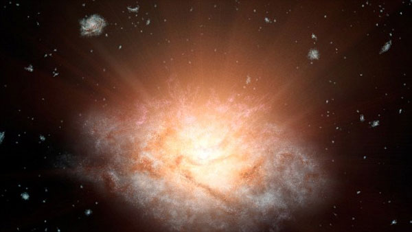 Astronomers discover most luminous galaxy in universe