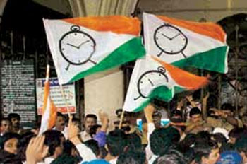 NCP to abstain during Maharashtra confidence vote