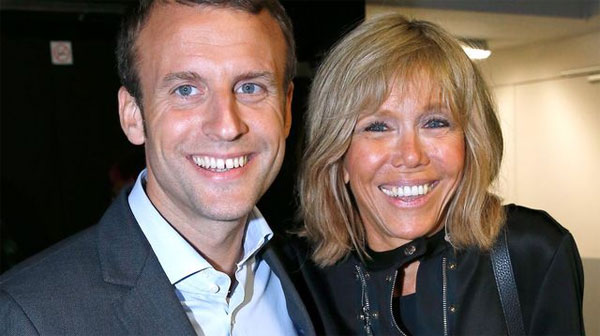 Macron under fire over wife's 'First Lady' role