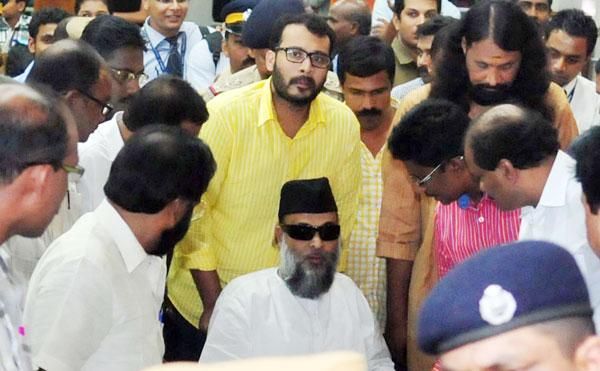 Ma'dani arrives in Kochi, says ray of justice now in sight