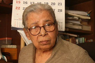 Mahasweta Devi appears in film based on her own story