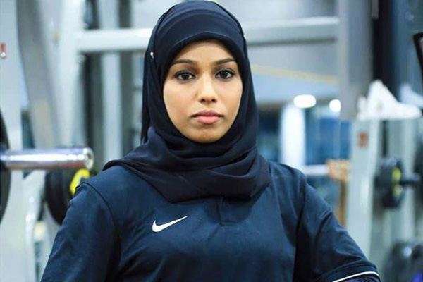 A hijab-wearing Muslim bodybuilder breaks stereotypes in India