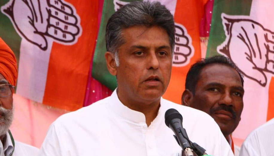Manish Tewari approaches EC over anti-Sikh riots allegations against family