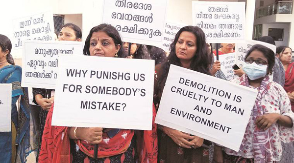 Mixed reaction to SC order on interim compensation to Kochi flat owners