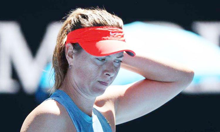 Sharapova in second round of Australian Open