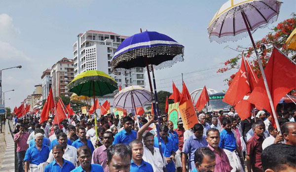 Workers take out May Day rallies