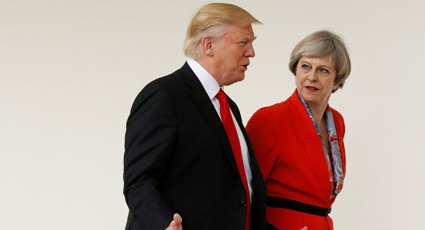 May rejects petition against Trumps state visit to Britain