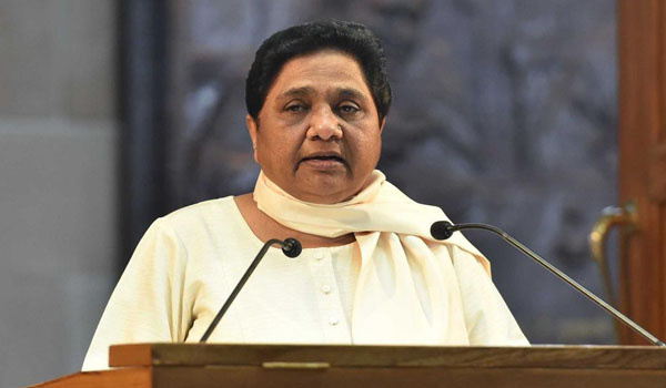 In R-Day message, Mayawati slams those who ruled for 70 years