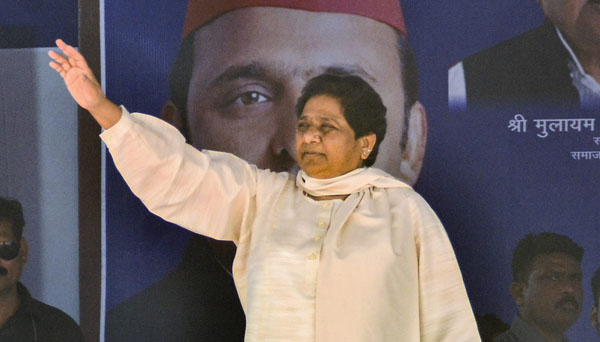 LS polls will see end of Namo, Namo chant: Mayawati