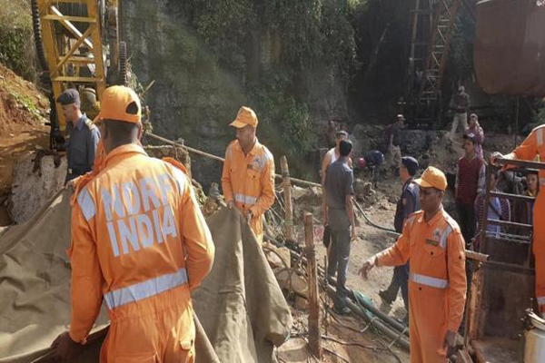 Trapped miners body retrieved from Meghalaya mine