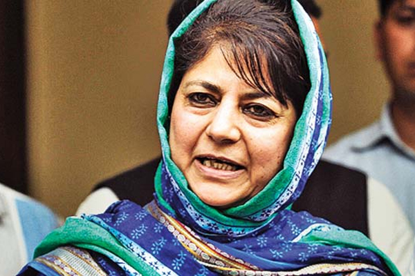 J-K Guv should ask security forces not to harass militants families: Mehbooba