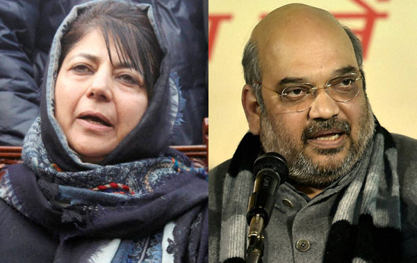 Mehbooba-Shah meeting today; Govt in JK likely on March 1