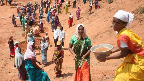 MGNREGA in trouble