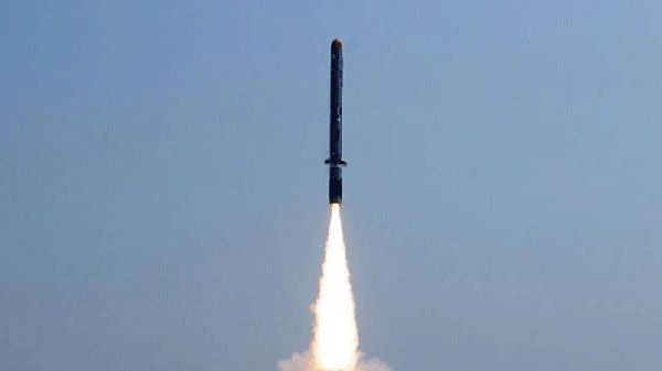 Indigenously developed cruise missile Nirbhay test-fired