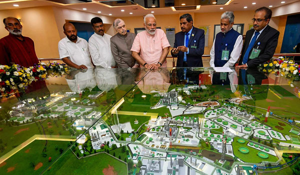 Modi unveils Rs 16,504-crore largest refinery complex in Kochi