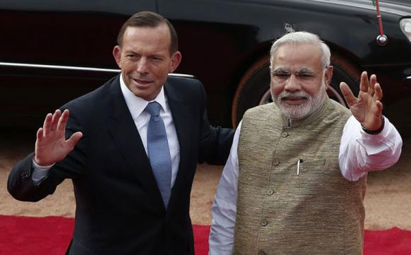 Australias Prime Minister Tony Abbott says to sign nuclear deal with India